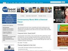 Contemporary Music With a Classical Flavor - Activity 1 Lesson Plan