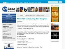 Where Folk and Country Meet Bluegrass - Activity 1 Lesson Plan
