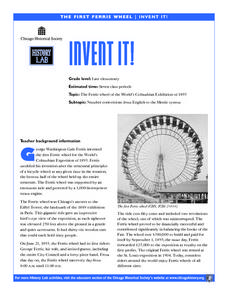 Invent It! Lesson Plan