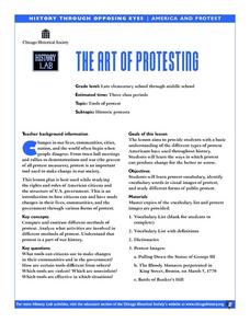 The Art of Protesting Lesson Plan