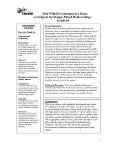Deal With It! Contemporary Issues Lesson Plan