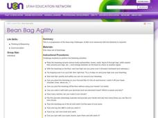 Bean Bag Agility Lesson Plan