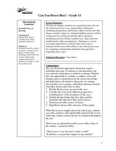 detecting bias media worksheet Hum 176 week 4 individual assignment social media assignment – a free powerpoint ppt presentation (displayed as a flash slide show) on powershowcom .
