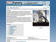 TE Lesson: Pollution Solutions Lesson Plan