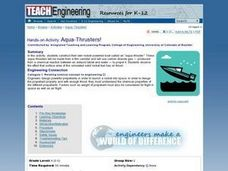 Aqua-Thrusters! Lesson Plan