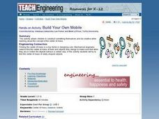TE Activity: Build Your Own Mobile Lesson Plan