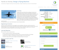 Design a Flying Machine Activities & Project