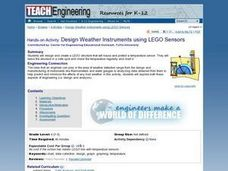 Design Weather Instruments using LEGO Sensors Lesson Plan