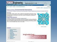 TE Activity: Environmental Interactions Lesson Plan