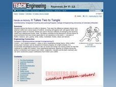 It Takes Two To Tangle Lesson Plan