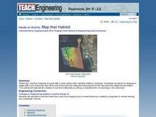 Map that Habitat Lesson Plan