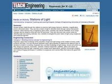 Stations of Light Lesson Plan