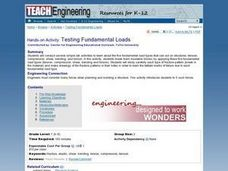 TE Activity: Testing Fundamental Loads Lesson Plan