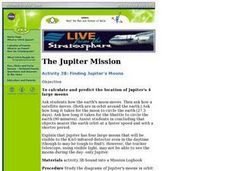 Finding Jupiter's Moons Lesson Plan