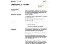 The Intrusion of Strangers Lesson Plan