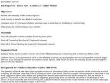 Calder Mobile Lesson Plan