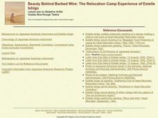 Beauty Behind Barbed Wire: The Relocation Camp Experience of Estelle Ishigo Lesson Plan