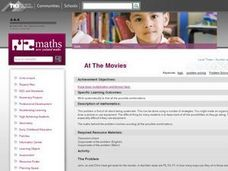 """At The Movies"" Lesson Plan"