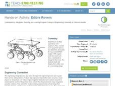 Edible Rovers Worksheet