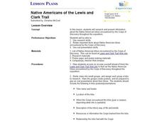 Native Americans of the Lewis and Clark Trail Lesson Plan