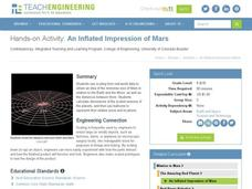 An Inflated Impression of Mars Worksheet