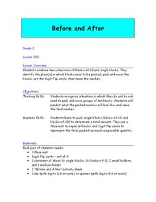 Before and After Lesson Plan