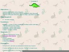 Dinosaur Scavenger Hunt Lesson Plan