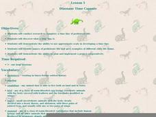 Dinosaur Time Capsule Lesson Plan