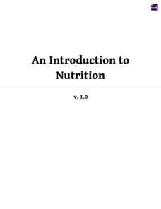 An Introduction to Nutrition Unit