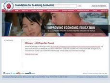 The Economic Way of Thinking - About Everything Lesson Plan