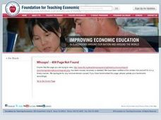 Prioritizing National Economic Goals Lesson Plan