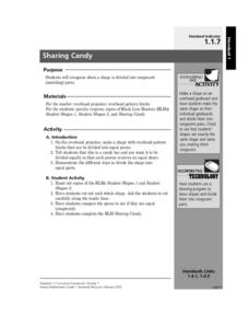 Sharing Candy Lesson Plan
