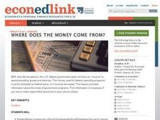 Where Does the Money Come From? Lesson Plan