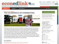 The Economics of Homebuying Lesson Plan