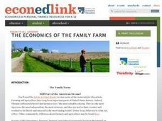 The Family Farm: Still Part of the American Dream? Lesson Plan