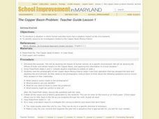 Getting Started: The Environmental Impact of Copper Mining Lesson Plan