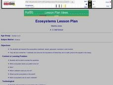 Ecosystems Lesson Plan Lesson Plan