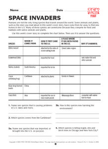 Space Invaders Lesson Plan