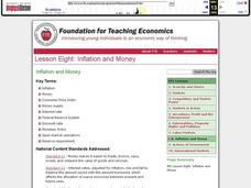 Inflation and Money Lesson Plan