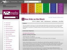 New Kids on the Block Lesson Plan