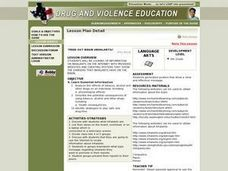 Fried Out Brain (Inhalants) Lesson Plan