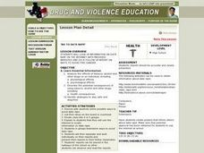 No To Date Rape Lesson Plan
