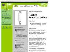 Rocket Transportation Lesson Plan