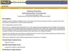 Making Marbles Lesson Plan