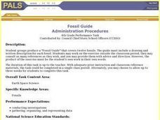 Fossil Guide Lesson Plan