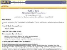 Rubber Band Lesson Plan