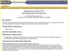 Mapping the Blue Part Lesson Plan