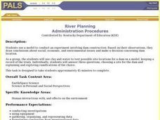 River Planning Lesson Plan