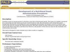 Development of a Nutritional Snack Lesson Plan