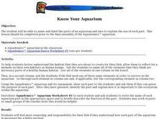 Know Your Aquarium Lesson Plan
